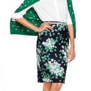 Talbots Oprah Magazine Collection Floral Skirt